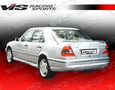 VIS Racing - Mercedes-Benz C Class VIS Racing Euro Tech-2 Rear Bumper - 94MEW2024DET2-002