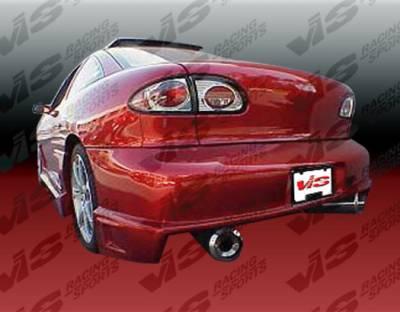 VIS Racing - Chevrolet Cavalier VIS Racing Striker Rear Bumper - 95CHCAV2DSTR-002