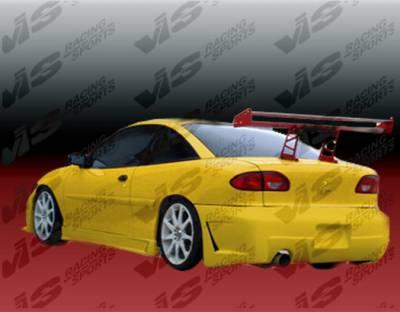 VIS Racing - Chevrolet Cavalier VIS Racing TSC-3 Rear Bumper - 95CHCAV2DTSC3-002