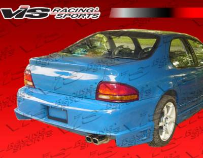 VIS Racing - Dodge Stratus 4DR VIS Racing Striker Rear Bumper - 95DGSTR4DSTR-002