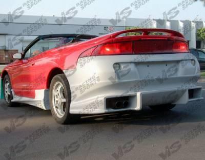 VIS Racing - Mitsubishi Eclipse VIS Racing Ballistix Rear Bumper - 95MTECL2DBX-002