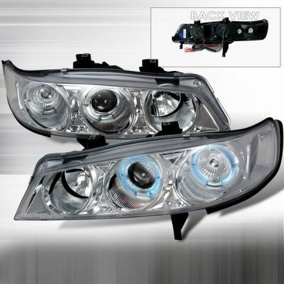Custom Disco - Honda Accord Custom Disco Clear Projector Headlights - 1PC - LHP-ACD94