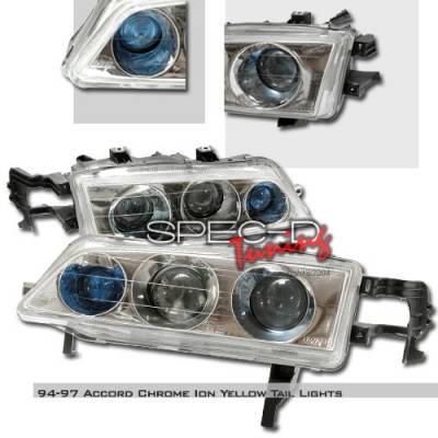 Custom Disco - Honda Accord Custom Disco Projector Headlights - LHP-ACD94B3TR