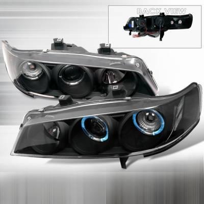 Custom Disco - Honda Accord Custom Disco Black Projector Headlights - 1PC - LHP-ACD94JM