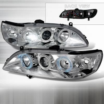 Custom Disco - Honda Accord Custom Disco Clear Projector Headlights - 1PC - LHP-ACD98