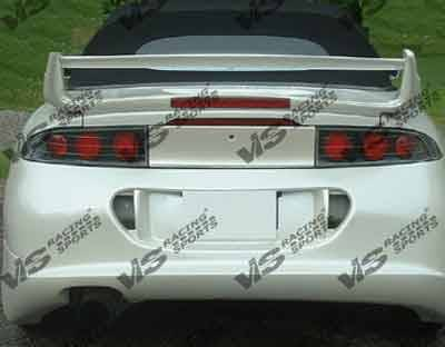 VIS Racing - Mitsubishi Eclipse VIS Racing RD Rear Bumper - 95MTECL2DRD-002