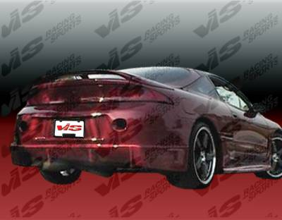 VIS Racing - Mitsubishi Eclipse VIS Racing TSC Rear Bumper - 95MTECL2DTSC-002