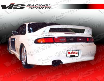 VIS Racing - Nissan 240SX VIS Racing Xtreme Rear Bumper - 95NS2402DEX-002