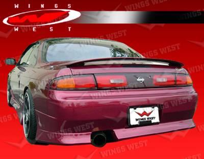 VIS Racing - Nissan 240SX VIS Racing JPC Type 1 Rear Bumper - 95NS2402DJPC1-002