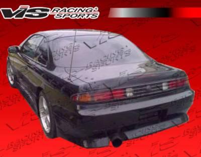 VIS Racing - Nissan 240SX VIS Racing M-Speed Rear Bumper - 95NS2402DMSP-002