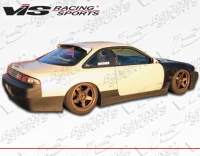 VIS Racing - Nissan 240SX VIS Racing Quad Six Rear Bumper - 95NS2402DQS-002
