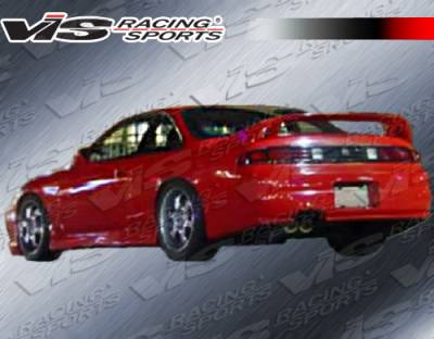 VIS Racing - Nissan 240SX VIS Racing Stalker Rear Lip - 95NS2402DSTK-012