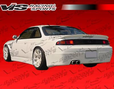 VIS Racing - Nissan 240SX VIS Racing Super Rear Bumper - 95NS2402DSUP-002