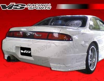 VIS Racing - Nissan 240SX VIS Racing Tracer Rear Bumper - 95NS2402DTRA-002