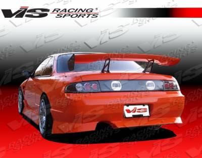 VIS Racing - Nissan 240SX VIS Racing V Spec-4 Rear Bumper - 95NS2402DVSC4-002