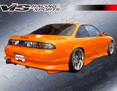 VIS Racing - Nissan 240SX VIS Racing V Spec S Rear Bumper - 95NS2402DVSCS-002