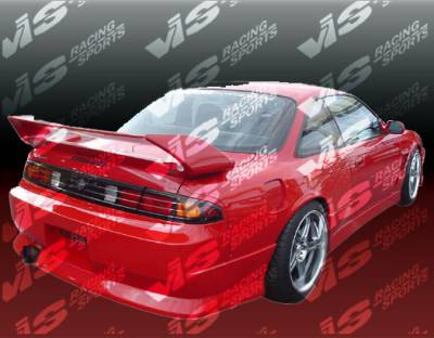 VIS Racing - Nissan 240SX VIS Racing V Speed Rear Bumper - 95NS2402DVSP-002