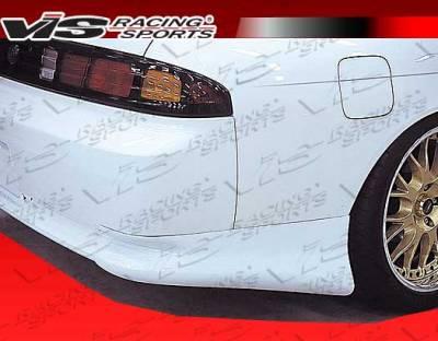 VIS Racing - Nissan 240SX VIS Racing Wings Rear Lip - 95NS2402DWIN-012