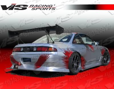 VIS Racing - Nissan 240SX VIS Racing Werk 9 Rear Bumper - 95NS2402DWK9-002