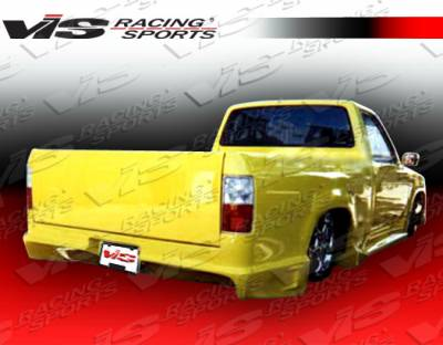 VIS Racing - Toyota Tacoma VIS Racing Striker Rear Bumper - 95TYTAC2DSTR-002