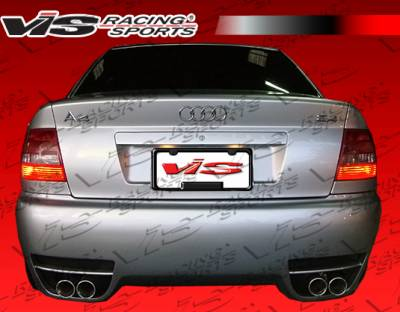 VIS Racing - Audi A4 VIS Racing RSR Rear Bumper - 96AUA44DRSR-002