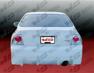 VIS Racing - Honda Accord 2DR & 4DR VIS Racing TSC Rear Bumper - 96HDACC2DTSC-002