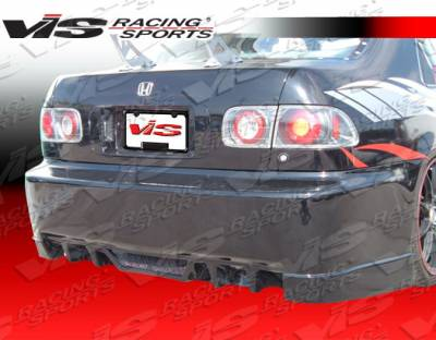 VIS Racing. - Honda Civic VIS Racing EVO-4 Rear Bumper - 96HDCVC2DEVO4-002