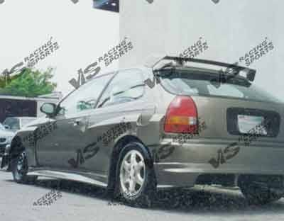 VIS Racing - Honda Civic 2DR & 4DR VIS Racing Quest Rear Bumper - 96HDCVC2DQST-002