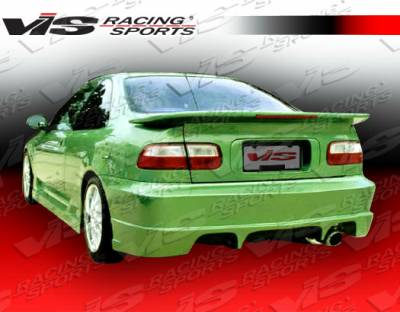VIS Racing - Honda Civic 2DR & 4DR VIS Racing Stalker Rear Bumper - 96HDCVC2DSTK-002