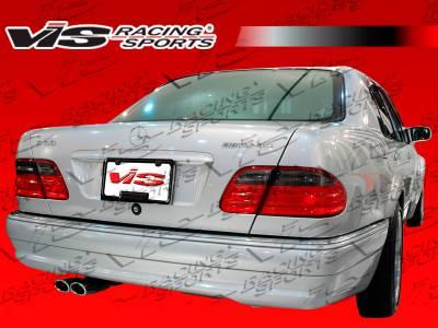VIS Racing - Mercedes-Benz E Class VIS Racing Euro Tech Rear Bumper - 96MEW2104DET-002