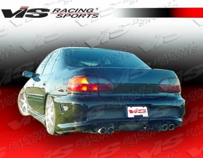 VIS Racing - Chevrolet Malibu VIS Racing Cyber Rear Bumper - 97CHMAL4DCY-002