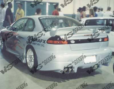 VIS Racing - Dodge Avenger VIS Racing Invader Rear Lip - 97DGAVG2DINV-012