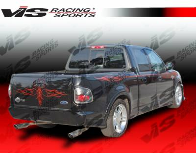VIS Racing. - Ford F150 VIS Racing Cobra R Rear Bumper - 97FDF152DCR-002