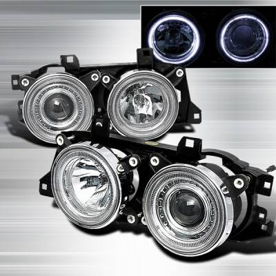 Custom Disco - BMW 5 Series Custom Disco Projector Headlights - LHP-E3488-TM