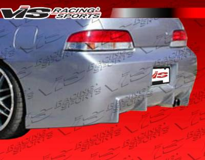 VIS Racing - Honda Prelude VIS Racing TSC Rear Bumper - 97HDPRE2DTSC-002