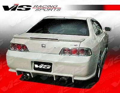 VIS Racing - Honda Prelude VIS Racing V Speed Rear Bumper - 97HDPRE2DVSP-002