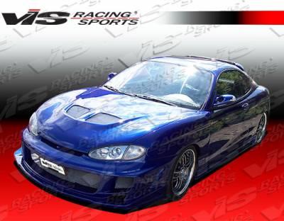 VIS Racing - Hyundai Tiburon VIS Racing Ballistix Rear Bumper - 97HYTIB2DBX-002