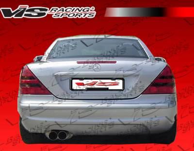 VIS Racing - Mercedes-Benz SLK VIS Racing Euro Tech Rear Bumper - 97MER1702DET-002