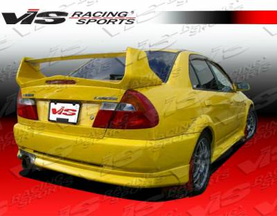 VIS Racing - Mitsubishi Mirage 2DR VIS Racing Evolution-5 Rear Bumper - 97MTMIR2DEVO5-002
