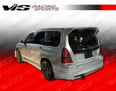 VIS Racing - Subaru Forester VIS Racing Z Sport Rear Lip - 97SBFOR4DZST-012