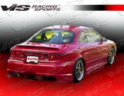 VIS Racing - Ford ZX2 VIS Racing Ballistix Rear Bumper - 98FDZX22DBX-002