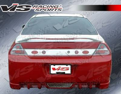 VIS Racing. - Honda Accord 4DR VIS Racing EVO-5 Rear Bumper - 98HDACC2DEVO5-002
