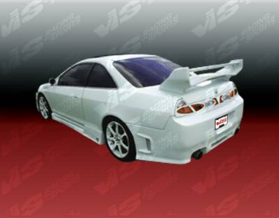 VIS Racing - Honda Accord 2DR VIS Racing Z1 boxer Rear Bumper - 98HDACC2DZ1-002