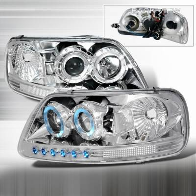Custom Disco - Ford F150 Custom Disco Projector Headlights - 1PC - LHP-F150971PC