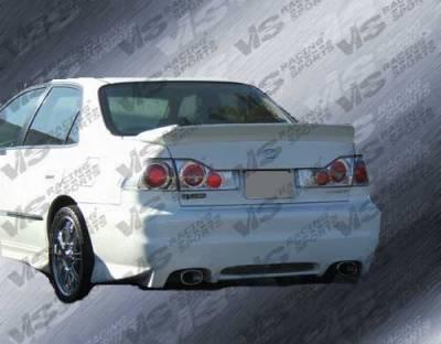 VIS Racing. - Honda Accord 4DR VIS Racing EVO-4 Rear Bumper - 98HDACC4DEVO4-002