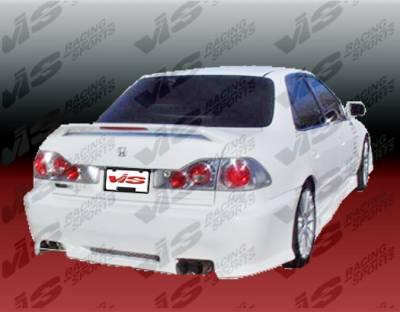 VIS Racing - Honda Accord 4DR VIS Racing Z1 boxer Rear Bumper - 98HDACC4DZ1-002