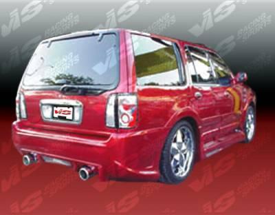 VIS Racing - Lincoln Navigator VIS Racing Outcast Rear Bumper - 98LCNAV4DOC-002