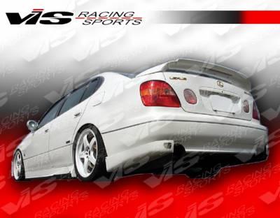 VIS Racing - Lexus GS VIS Racing Alfa Rear Lip - Carbon Fiber - 98LXGS34DALF-012C