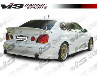 VIS Racing - Lexus GS VIS Racing VIP Rear Lip - 98LXGS34DVIP-012