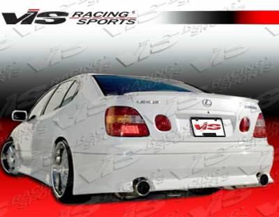 VIS Racing - Lexus GS VIS Racing V Speed Rear Bumper - 98LXGS34DVSP-002